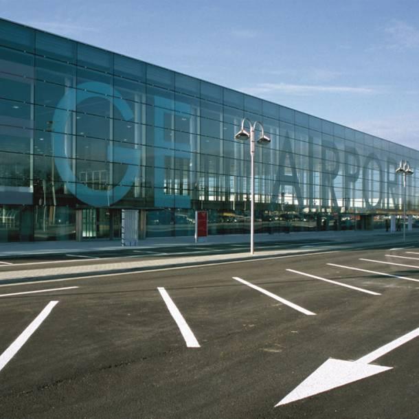 Ziegler at Liege Airport