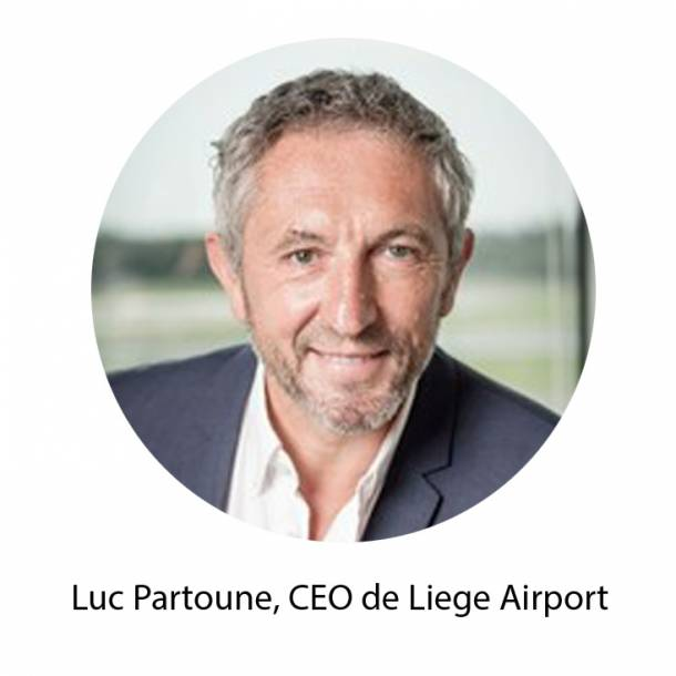 Luc Partoune, CEO de Liege Airport