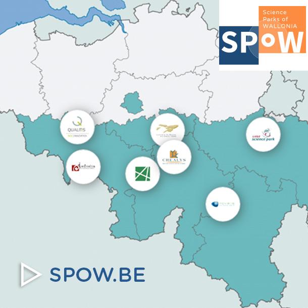 SPOW - sciences parks of Wallonia