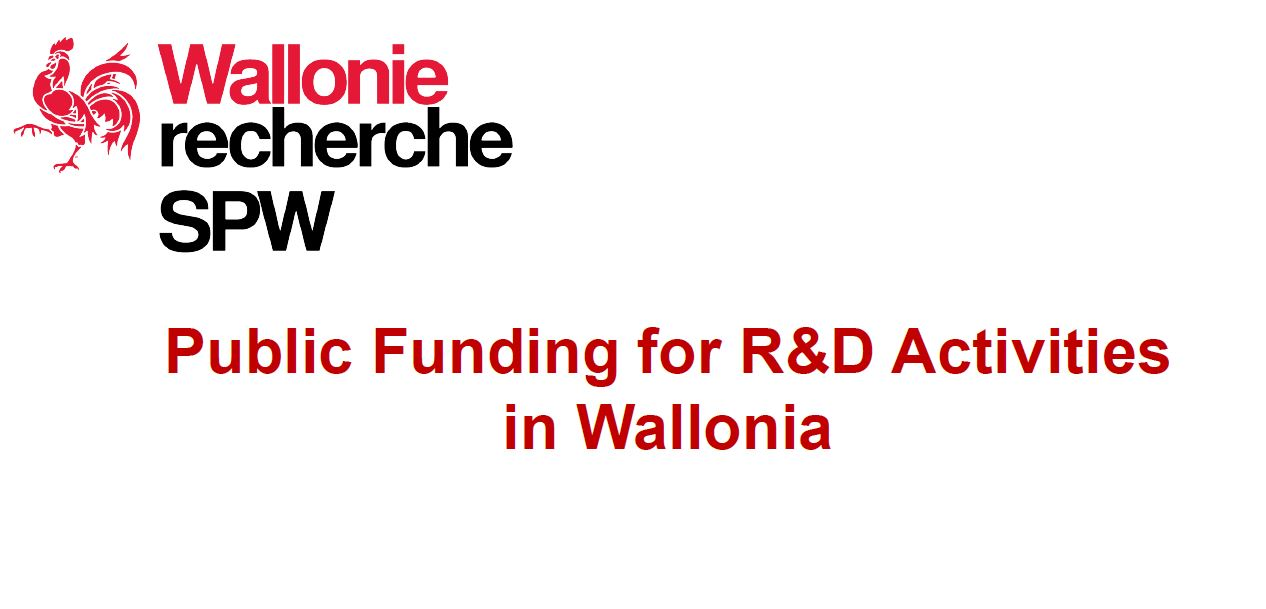 R&D funding in Wallonia